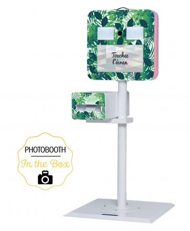 Habillage Tropical pour Photobooth - In The Box