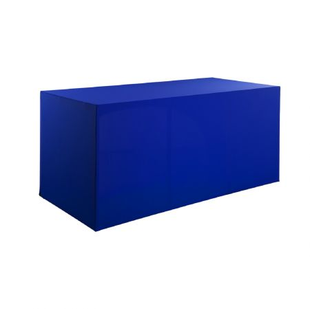 Housse buffet bleue 200x94x90