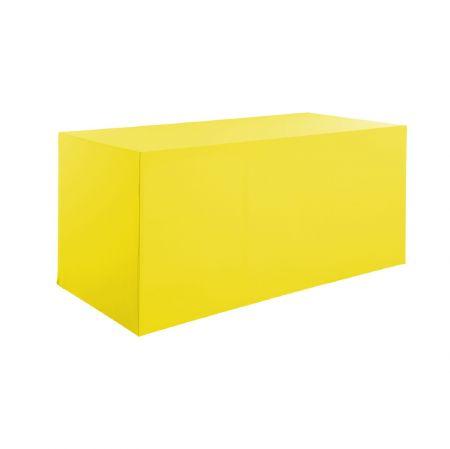 Housse buffet jaune 200x94x90