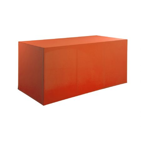 Housse buffet orange 200x94x90