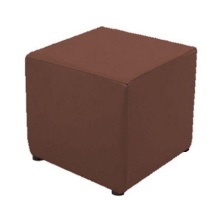 Housse chocolat pour pouf