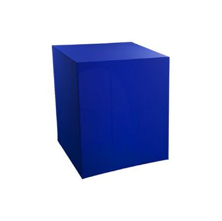 Housse demi-buffet bleue 94x94x110