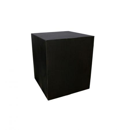 Housse demi-buffet noire 94x94x110