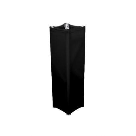 Housse lycra Noire pour structure de 2m
