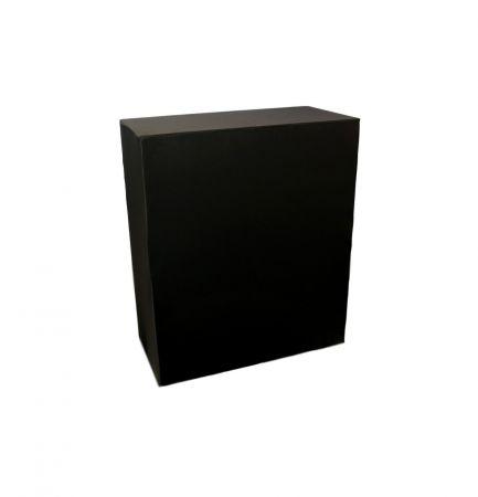 Housse quart buffet noire 94x45x110