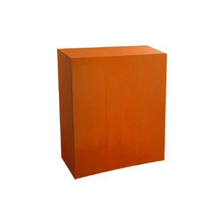 Housse quart-de-buffet orange 94x45x110