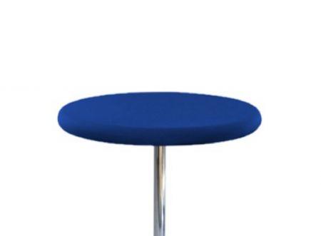 Housse Top bleu pour Mange Debout diam 68-90cm