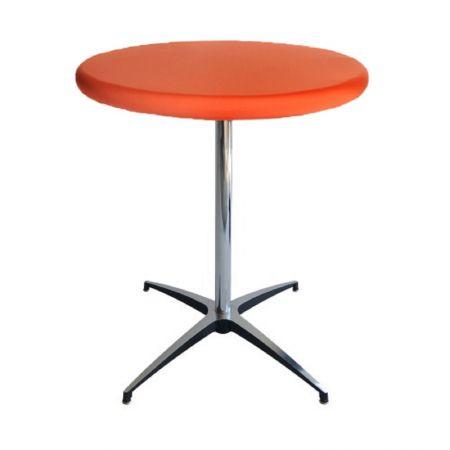 Housse Top orange pour Mange Debout diam 68-90cm