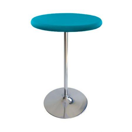 Housse Top turquoise pour Mange Debout diam 68-90cm