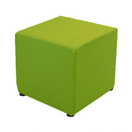 Housse verte pour pouf