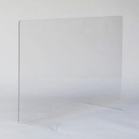 Hygiaphone design 1000mm x 750mm - pied plexi