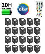 Kit 20 projecteurs LED sans FIL avec batterie