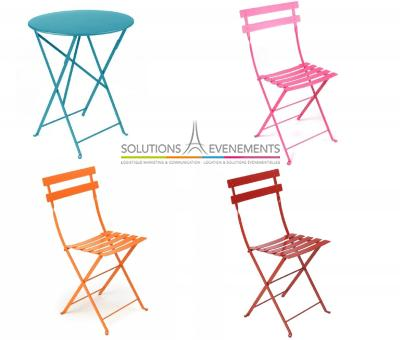 Kit 3 Chaises + 1 Table Fermob