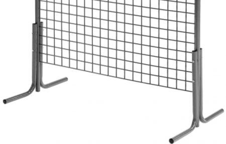 Kit double pieds pour grille exposition