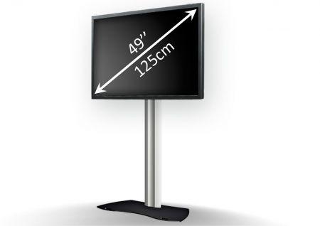 Kit écran plat 49 pouces sur pied