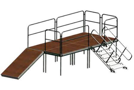 Kit Escalier modulaire ASD 20-100cm