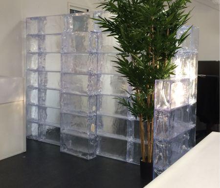 Kit mur de glace artificiel - Geo Brick