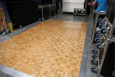 Kit parquet piste de danse - 10m2-24 pax