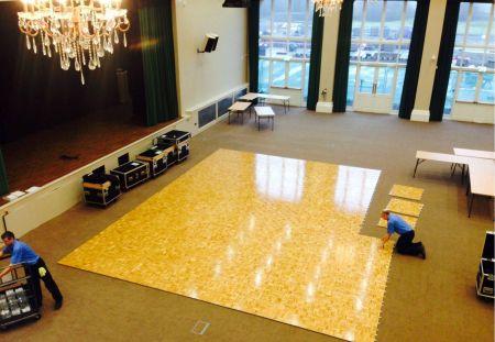 Kit parquet piste de danse - 30m2-72 pax