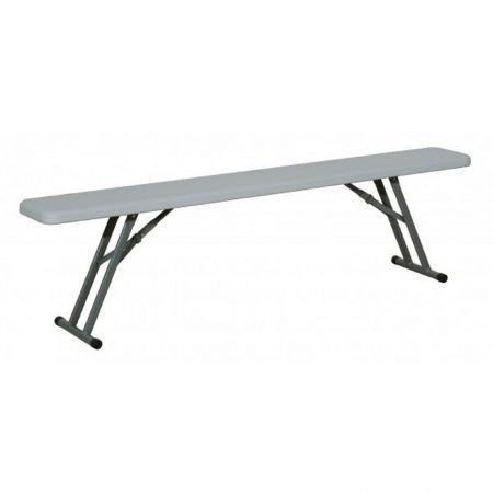 Kit table et banc pliant HDPE