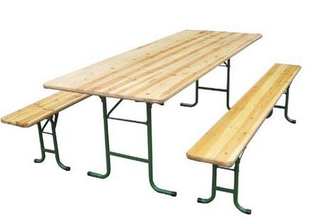 Kit table et bancs Kermesse