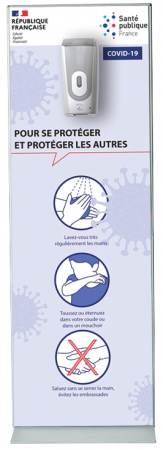 Klean150 personnalisé - distributeur gel hydroalcoolique