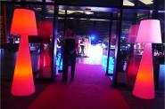 Lampadaire lumineux - Slide Pivot