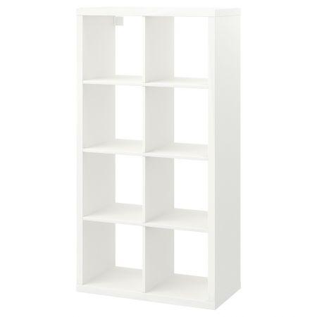 Meuble étagère blanc