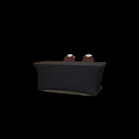Nappe pour table de conférence 183x76x74cm