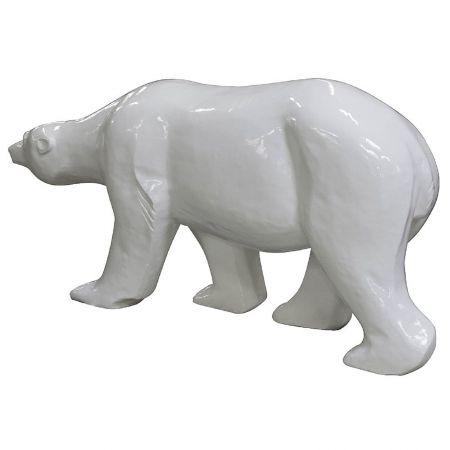 Ours polaire artificiel déco