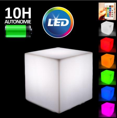 Pack 12 cubes lumineux - LED