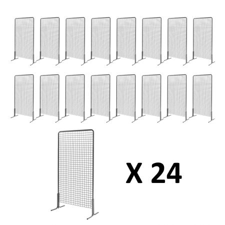 Pack 24 grilles exposition