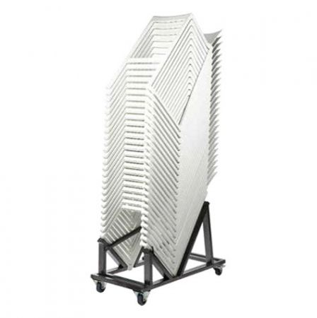 Pack 25 chaises hautes Kasar blanches