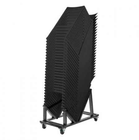 Pack 25 chaises hautes Kasar noirs