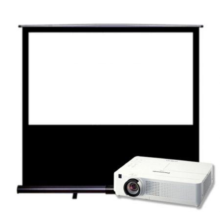 Pack vidéoprojecteur + Toile à écran