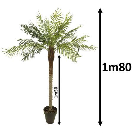 Palmier artificiel 1m80