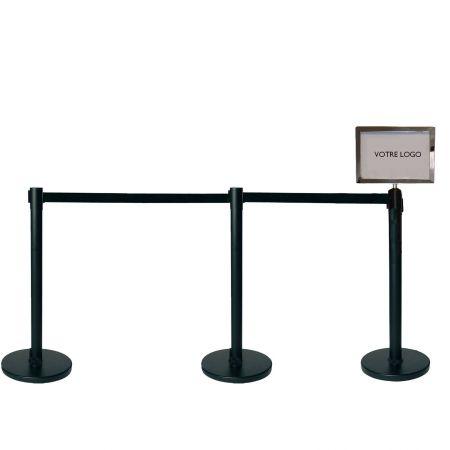 Panneau indicateur horizontal (A4) - Signalétique potelets