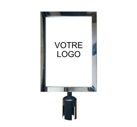 Panneau indicateur vertical (A4) - Signalétique potelets