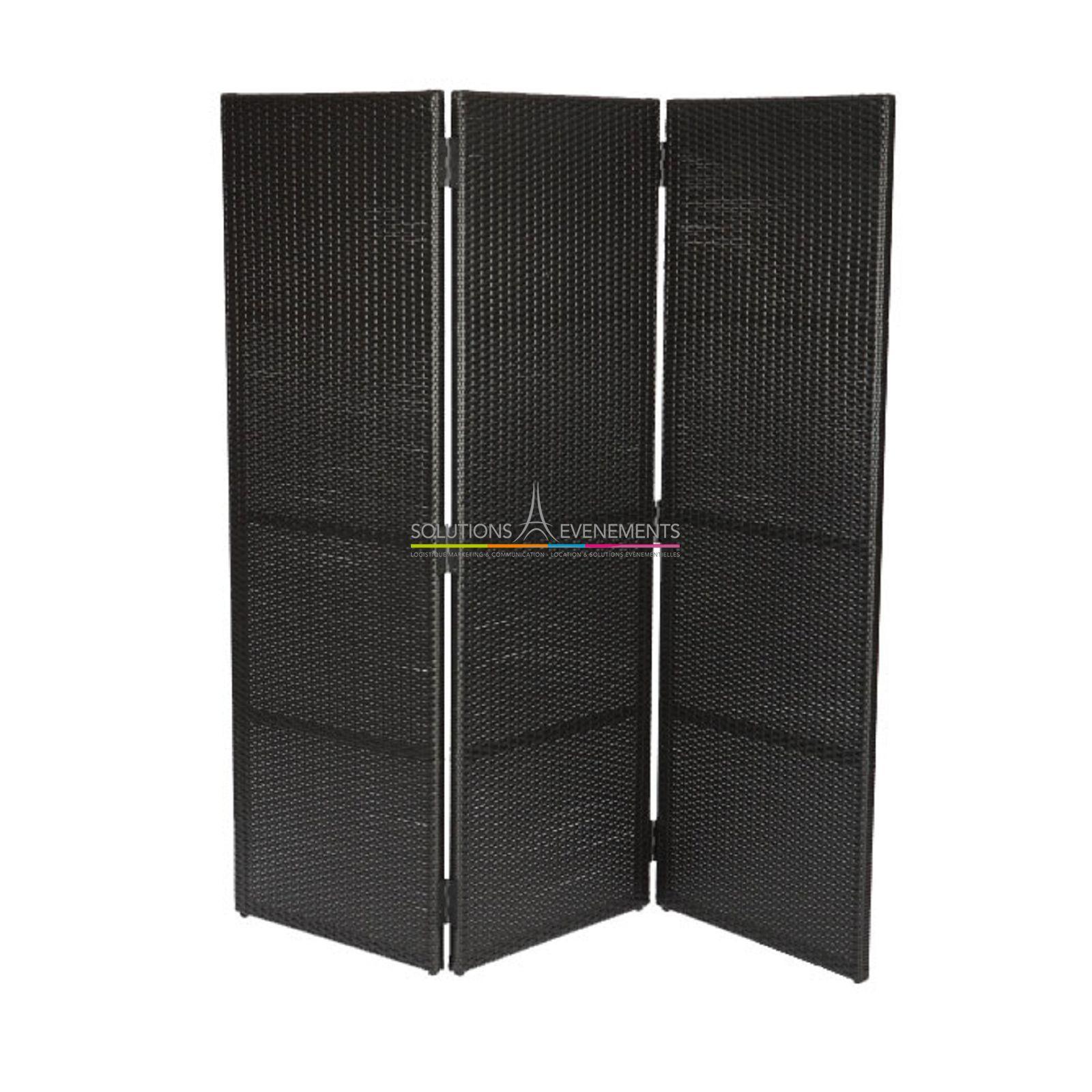 location paravent noir. Black Bedroom Furniture Sets. Home Design Ideas