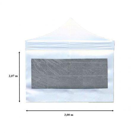 Paroi latéral avec fenêtre 3m