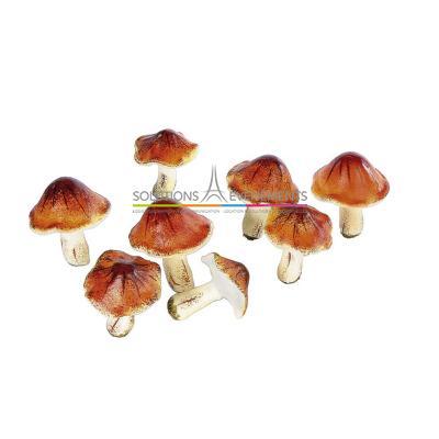 Petits champignons 7cm