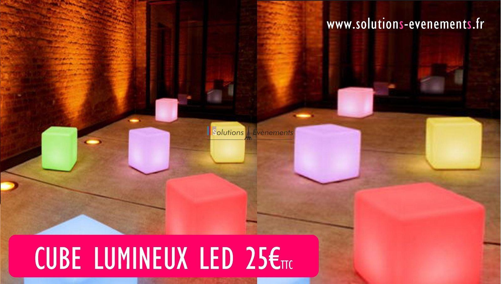 Location de cube lumineux led paris design tendance for Cube lumineux exterieur sans fil