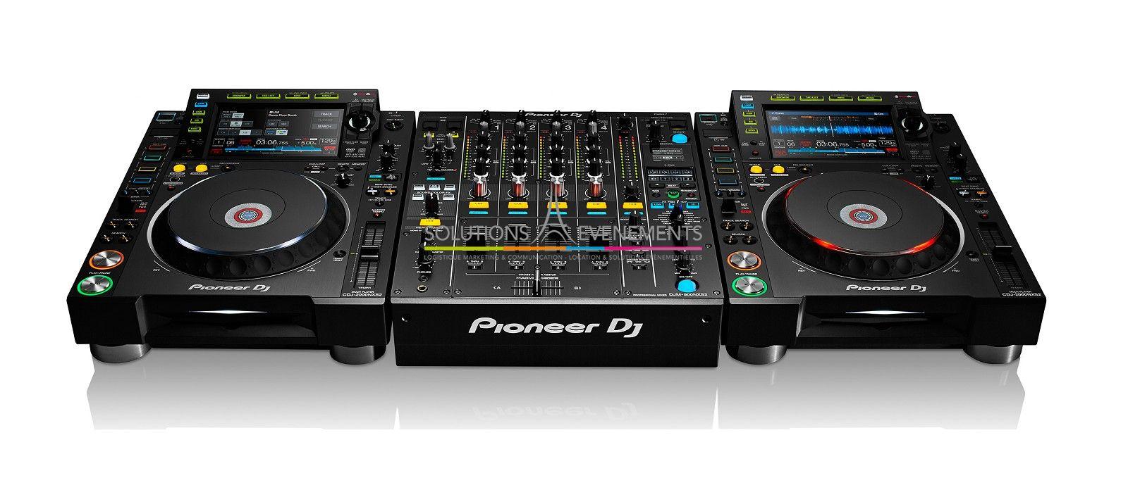Location regie dj pro pioneer cdj2000 et djm900 nxs 2 - Table de mixage pioneer djm 2000 ...