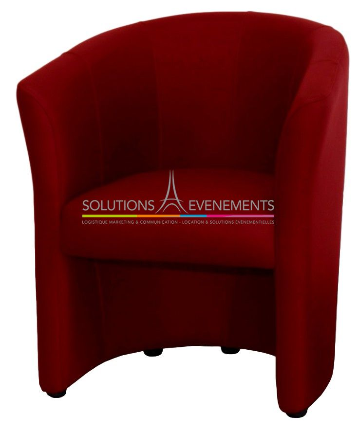 location fauteuil cabriolet rouge. Black Bedroom Furniture Sets. Home Design Ideas