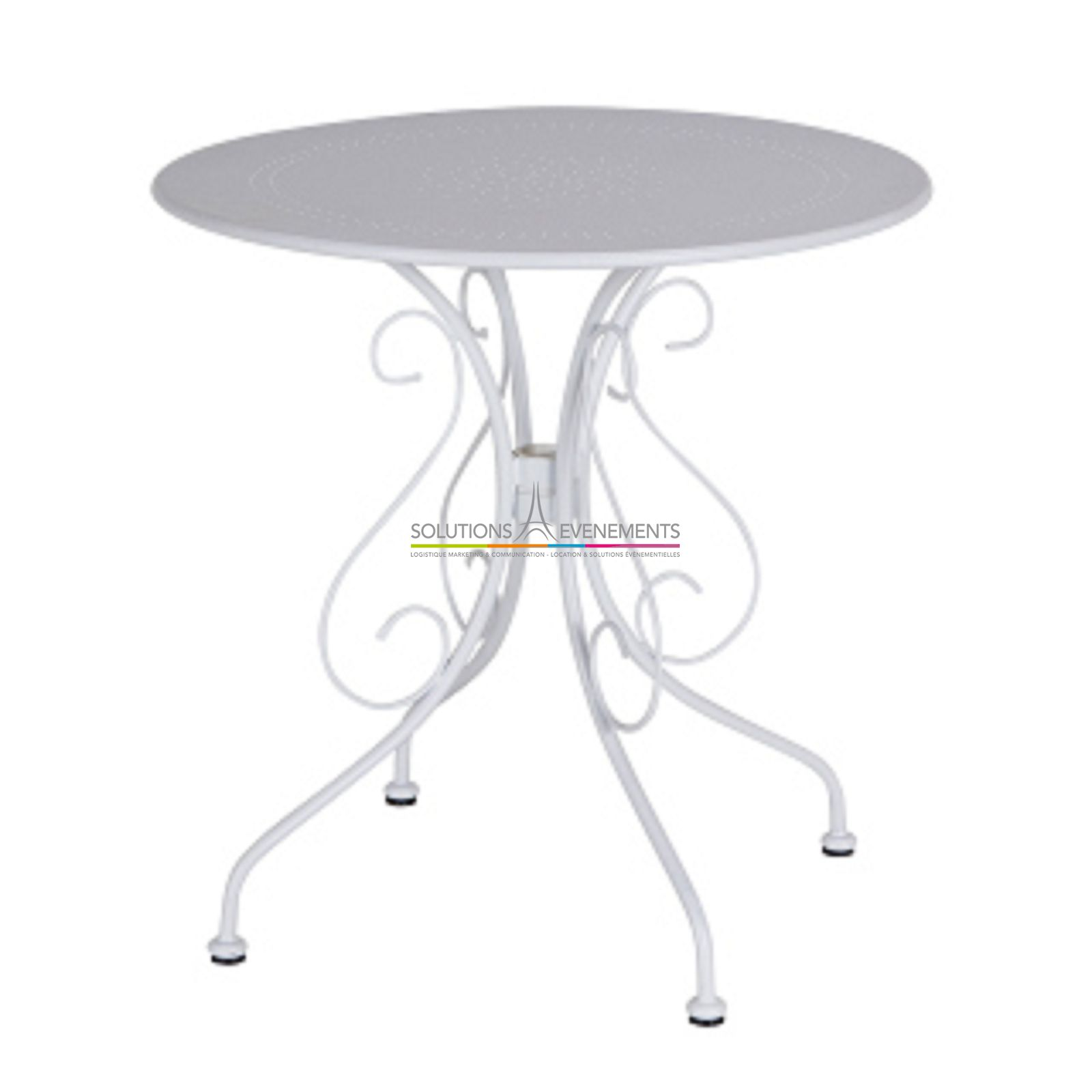 Table jardin fer blanche des id es for Table jardin fer forge occasion