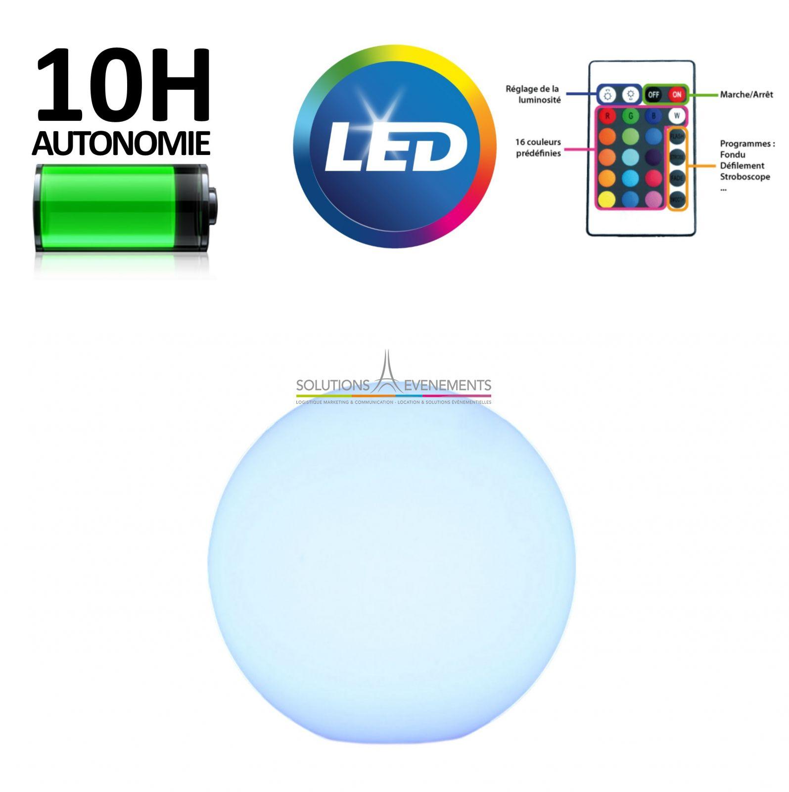 location boule sphere lumineuse led pour evenement et exposition. Black Bedroom Furniture Sets. Home Design Ideas