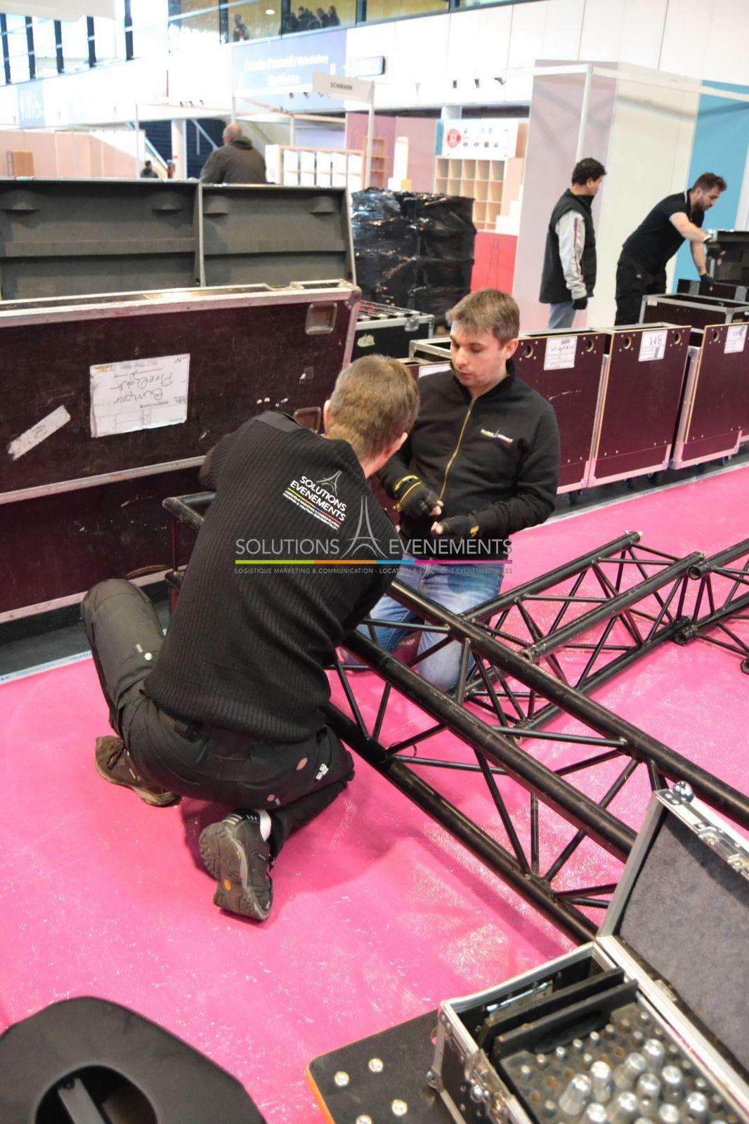 Offre de mission de Technicien évènementiel / Installation et maintenance de