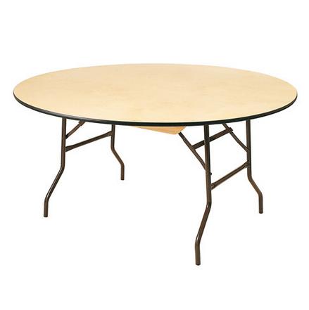 Location table ronde bois pour 8 10 personnes for Table pliante 10 personnes