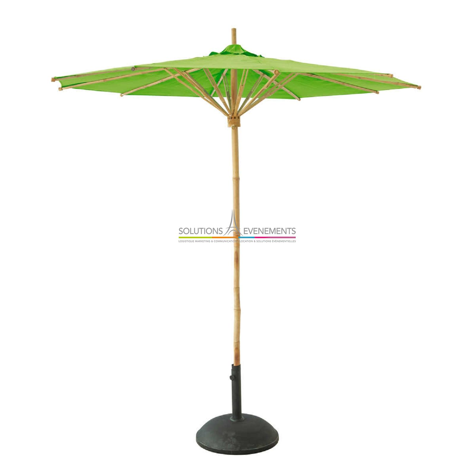 Location parasol deco bambou - Location parasol chauffant ...