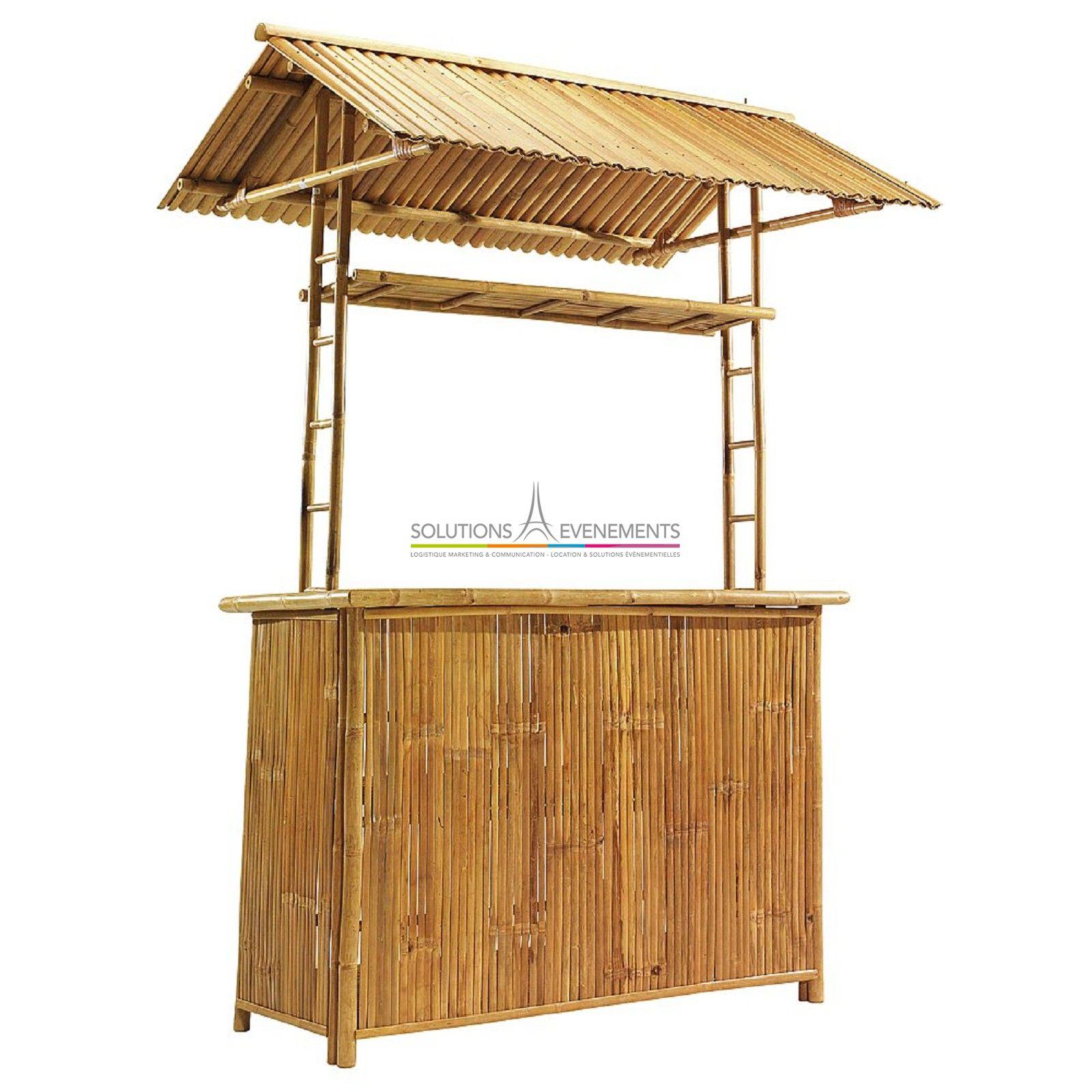 location bar exotique bambou. Black Bedroom Furniture Sets. Home Design Ideas